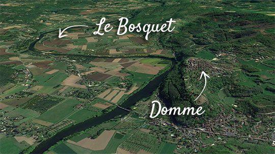 Domme The Prigord Noir Camping Le Bosquet
